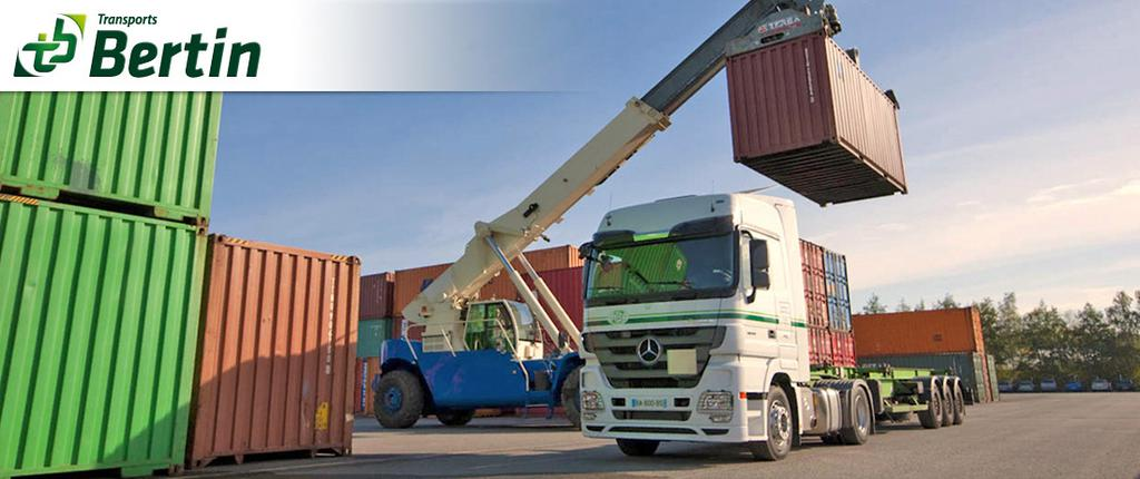 Transport de conteneurs maritimes for Transformation conteneur maritime
